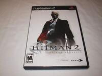 Hitman 2: Silent Assassin (Playstation 2, 2002) PS2 Black Label Complete Nr Mint