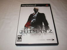 Hitman 2: Silent Assassin (Playstation PS2) Original Release Complete Nr Mint!