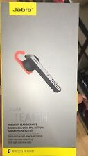 Jabra Stealth Bluetooth Mono Headset Black Voice Control Dual Microphones