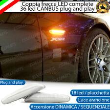 COPPIA FRECCE LATERALI PROGRESSIVE A LED PER BMW SERIE 3 E46 RESTYLING 09/2001 +