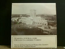 ST. DAVID'S CATHEDRAL CHOIR   LP Directed by Nicholas Jackson  Choral   EX !!