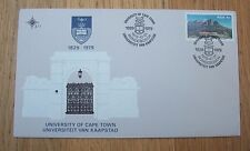 South Africa 1979 University Of Cape Town F D C First Day Cover