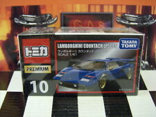 TOMICA PREMIUM #10 LAMBORGHINI COUNTACH LP500S 1/61 SCALE NEW IN BOX