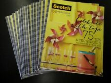 New Scotch Expressions Tape Project Book all 15