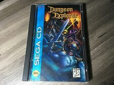 Dungeon Explorer Sega CD CIB-Complete