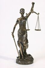 La Justicia Statue Lady Justice Desk Law Balance Legal Blind Office
