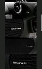 Harman/Kardon Emblem 4 Stück☆Lautsprecher Aufkleber LKW Tuning Iveco Renault Etc