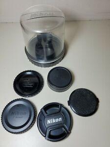 Nikon Hard Bubble Case And 5 Lens Caps