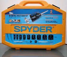 Spyder Bi-Metal Hole Saw Kit - 13 Piece Rapid Core Eject 5x Faster 600887 NEW!