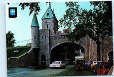 Quebec Canada Saint Louis Gate La Porte Saint-Louis 4x6 Postcard A41