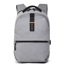 Fashion Solid Business Backpacks - Gray (LSG073028)