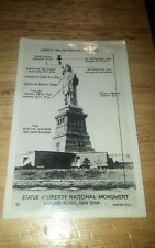 VINTAGE RPPC STATUE OF LIBERTY NATIONAL MONUMENT NEW YORK, N.Y. POSTCARD