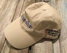 BON JOVI Hamilton Adjustable Baseball Cap Hat 2012 New