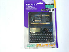SHARP EL-6690B Memo Master Electronic Organizer 64KB NEW Sealed Package