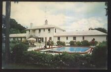 Postcard Daytona Beach Florida/Fl Mt Vernon Tourist Motor Lodge view 1950's