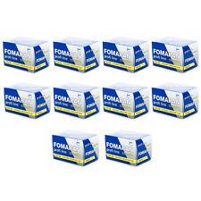 10 Rolls x FOMAPAN 100 Profi Line Classic 135 35mm 36exp Black & White Film FOMA