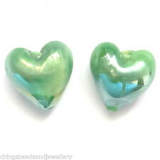Murano/Lampwork Heart Jewellery Making Beads