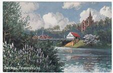 Zwischenkriegszeit (1918-39) Ansichtskarten aus Sachsen mit dem Thema Brücke