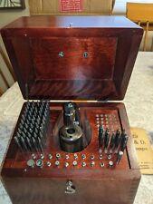 Davis #600 by K&D, Lebanon, Nh Vintage Watchmaker Staking tool Set, Kendrick &