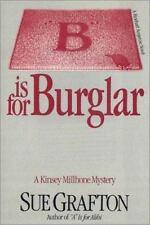 Kinsey Millhone Mystery: B Is for Burglar Sue Grafton (Cassette, Collectors Ed)
