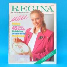 Regina Nr. 5 | Sticken 45 Super-Modelle | Tischdecken Gobelin Wandbehänge