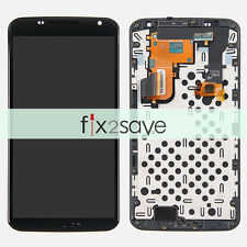 New Motorola XT1100 Google Nexus 6 LCD Screen Touch Digitizer Assembly + Frame