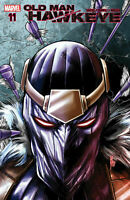 OLD MAN HAWKEYE #11 MARVEL COMICS COVER A 1ST PRINT ZEMO