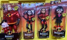 "6 Disney Pixar Incredibles 2 11"" Dolls Deluxe Action Figures Special Edition"