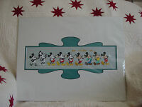 Disney Parks Mickey Thru The Years Deluxe Print by Costa Alavezos New