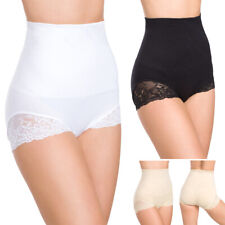 Womens Body Shaping Underwear Slimming Panties with Lace High Waist M-2XL FG6077