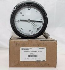 "ASHCROFT 5RXZ7 30""HG VAC - 0 VACUUM PROCESS GAUGE! NEW IN BOX! FAST SHIP! (B131)"