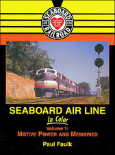 Seaboard Air Line in Color (Centipede, Ft, C420, Gp40) - New Book