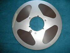 "Quantegy 632 Audio tape on 10 1/2"" used  metal reel with NAB center hub!!!!!"