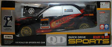 QD SUBARU IMPREZA HUGE 1/8 20'' RACER 27 MHz MULTI FUNCTION RC NOT WORKING MIP