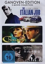 DVD-BOX - Ganoven-Edition - The Italian Job / Chinatown / The Untouchables