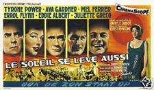 The sun also rises Ava Gardner vintage movie poster