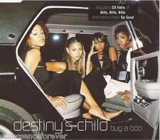 DESTINY'S CHILD - Bug A Boo (UK 4 Tk Enh CD Single Pt 1)