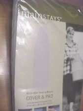 Mainstays Ironing Board Cover & Pad New Silver cover 100% cotton