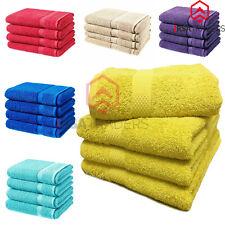 Luxury 4 X 100% Cotton Bath Sheets Bathroom Shower Summer Soft Beach Towels