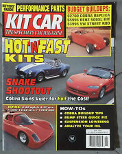 KIT CAR SPECIALTY AUTOMOTIVE MAGAZINE 1995 MAY VIPER COBRA VW BEETLE ULTIMA