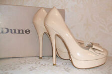 Dune Patent Leather Court Shoes for Women