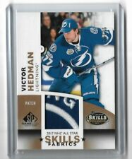 2017-18 SP GAME USED '17 ALL STAR SKILLS FABRICS PATCH #ASVH VICTOR HEDMAN /35