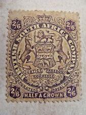 MARSHALL HOLE, BULAWAYO RHODESIA, 2/ 6 SHILLING STAMP,  CURRENCY CARD,  BOER WAR