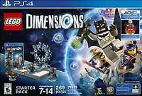 NEW Lego 71171 Dimensions Starter Pack PS4 Playstation 4 NO SUPERGIRL MINIFIGURE