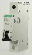 Crabtree Starbreaker - 61/B16 - 16a Type B Single Pole MCB Latest Style New