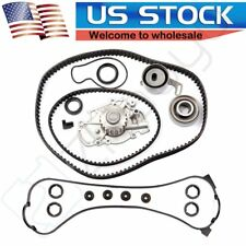 Timing Belt Kit Water Pump Valve Cover Gasket For Honda Accord DX LX 2.2L 90-93