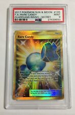 Pokemon: Rare Candy 165/145 Secret Rare - Guardians Rising 2017 PSA 9 MINT