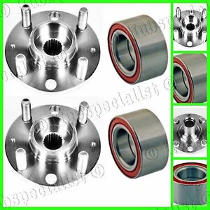 Front Wheel Hub & Bearing For Chevrolet Aveo 2004-2011 PAIR 2-3 DAYS RECEIVE