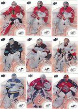 14/15 Upper Deck Ice Goalie Card Antti Niemi #47 Sharks 2014/15