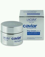 Lacura Caviar Illuminating Luxury Day Cream Anti Ageing. All Skin Types. SPF15 !